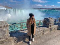 Gabriela Rocha curte dias em Ontario, no Canadá