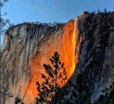 Cachoeira El Capitán, no Parque Nacional de Yosemite, na Califórnia