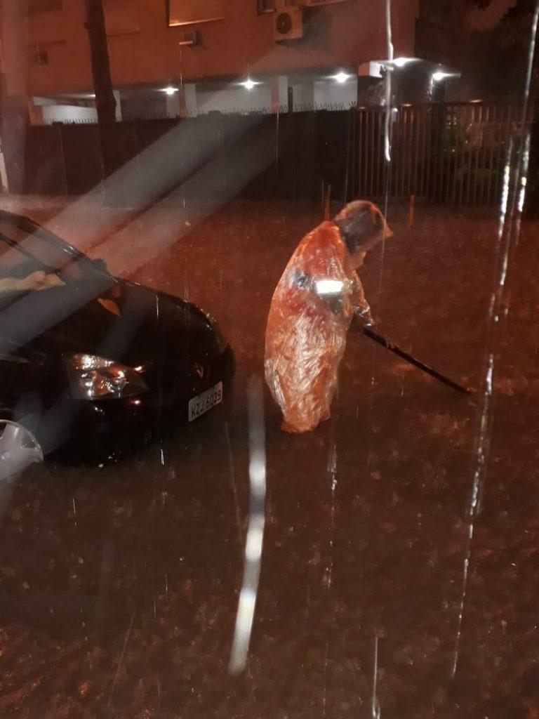 Rio de Janeiro entrou em estágio de crise por causa de temporal