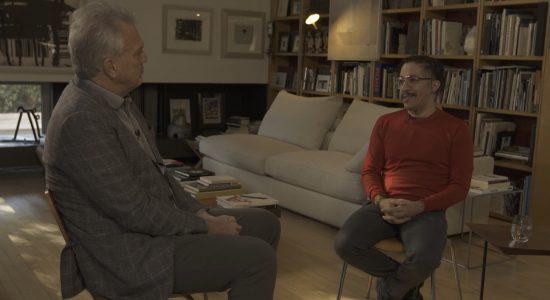 Ex-deputado Jean Wyllys em entrevista a Pedro Bial