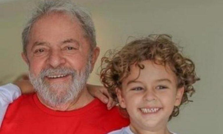 Em março, Lula perdeu o neto Arthur