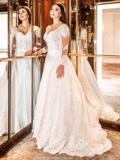 Tendências para os vestidos de noiva 2019/2020