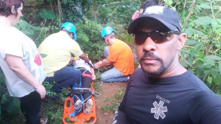 Há 20 anos atuando em resgate, J Silva explica o trabalho