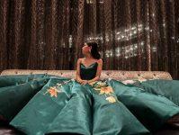 Ciara Gan fez seu próprio vestido de formatura