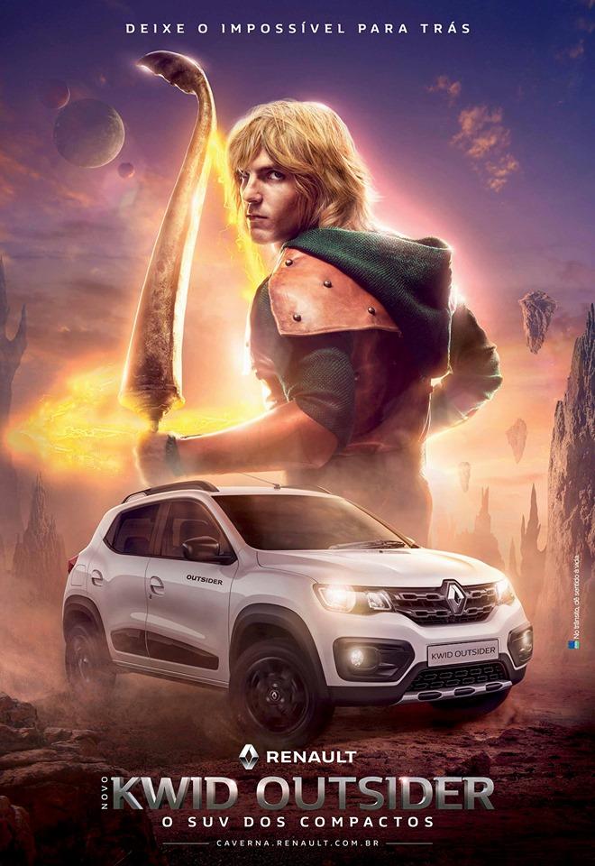 Renault se inspira em Caverna do Dragão para novo comercial