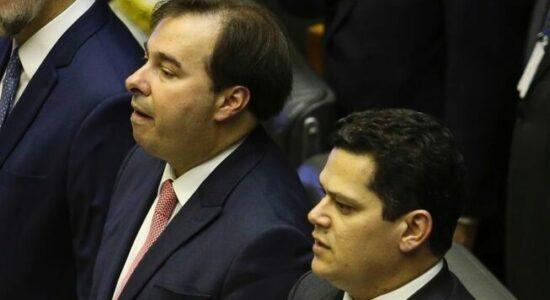 Rodrigo Maia e David Alcolumbre