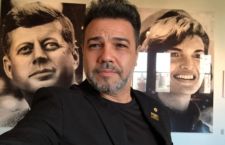 Estive nos Estados Unidos junto com a comitiva do presidente Bolsonaro