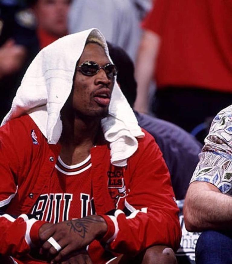 Dennis Rodman foi um dos grandes nomes da NBA