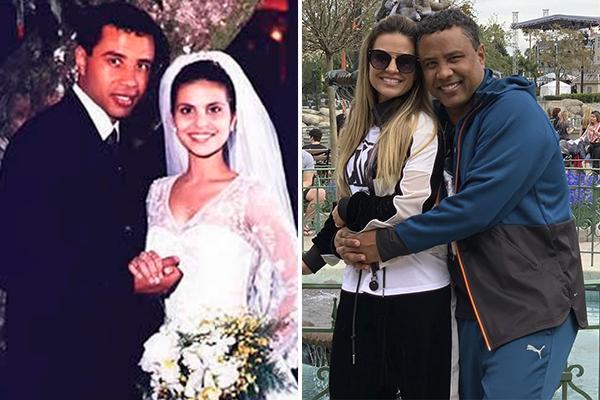 Aline Barros e Gilmar dos Santos