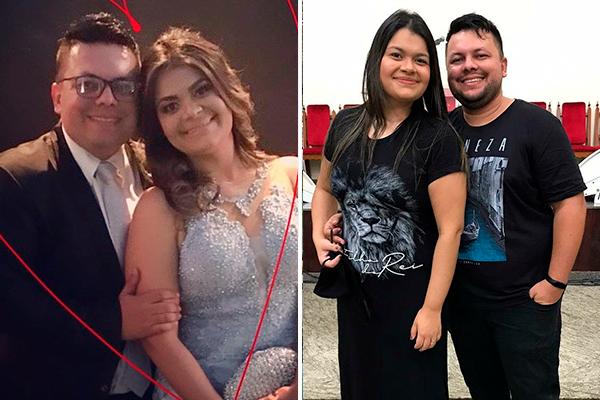 Hellen Miranda e Paulo