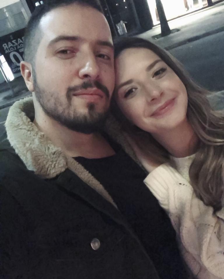 Isaias Saad e Vitória Eisfeld