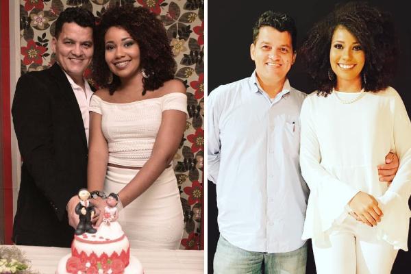 Paola Carla e Renato Andrade