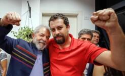 Ex-presidente Lula e Guilherme Boulos