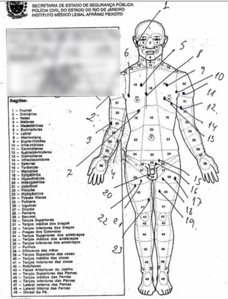 17/06 - Laudo da necropsia mostra 30 ferimentos