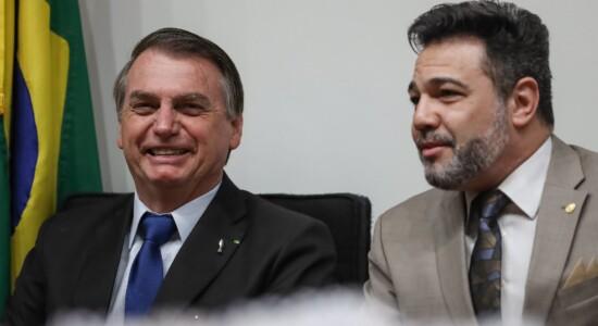 Presidente Jair Bolsonaro e deputado Marco Feliciano