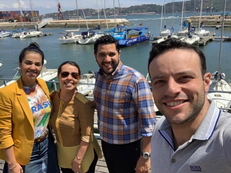 Casal desembarcou em Portugal para ministrar na região