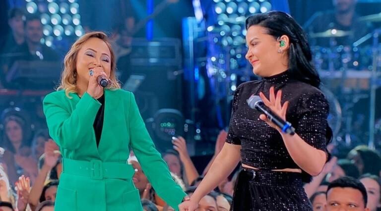 Bruna Karla representa o gospel no palco do Só Toca Top