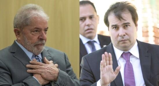 Lula/Rodrigo Maia