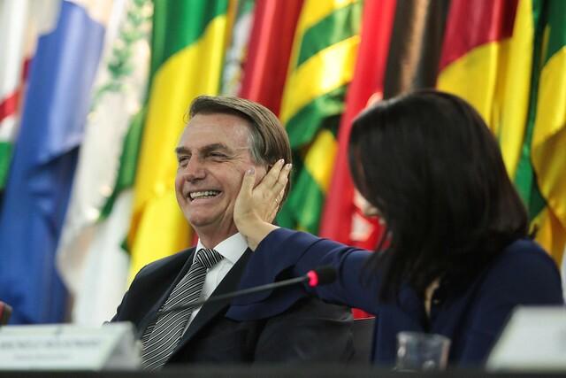 Festa de Arthur teve a presença do presidente Jair Bolsonaro