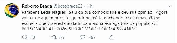 Leda Nagle rebateu declaração de FHC sobre Bolsonaro