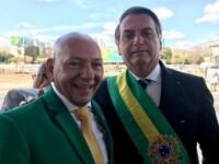 Luciano Hang e o presidente Jair Bolsonaro