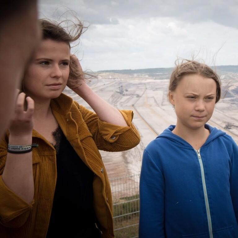 Greta Thunberg e Luisa Neubauer são jovens ativistas pelo clima