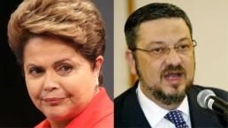 Dilma Rousseff e Antônio Palocci