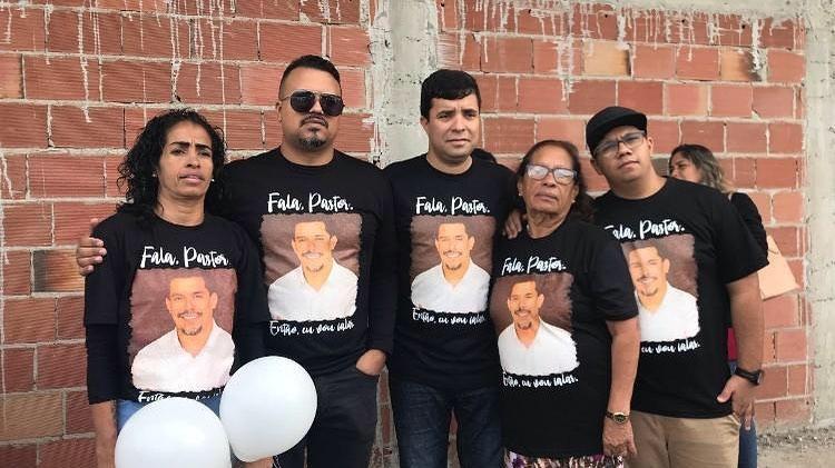 Família de Anderson em homenagem