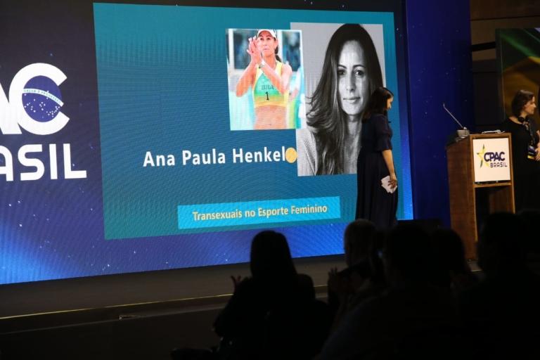 Atleta Ana Paula Henkel criticou transexuais nos esportes femininos