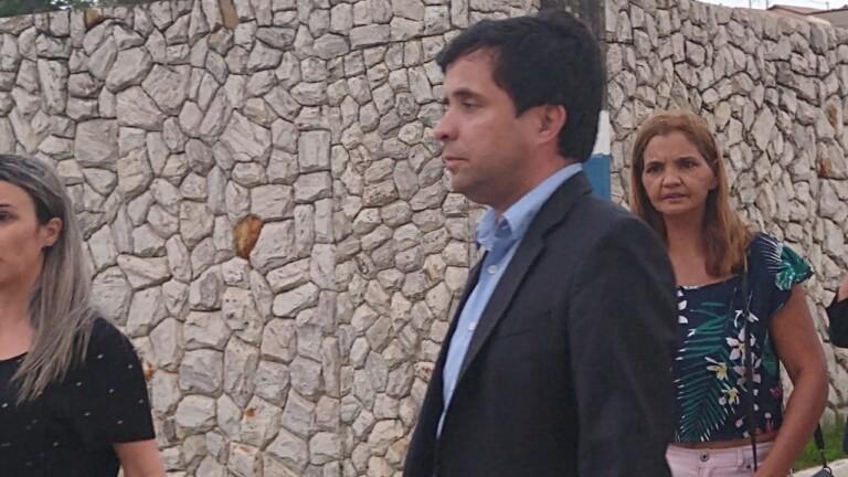 Misael Andrade, sobrinho de Michele e filho de Anderson, preferiu não falar com a imprensa