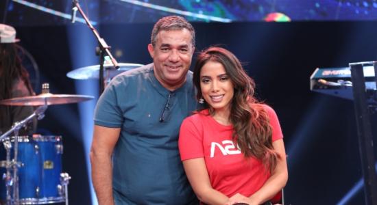 Anitta e seu pai, Mauro Machado, o Painitto