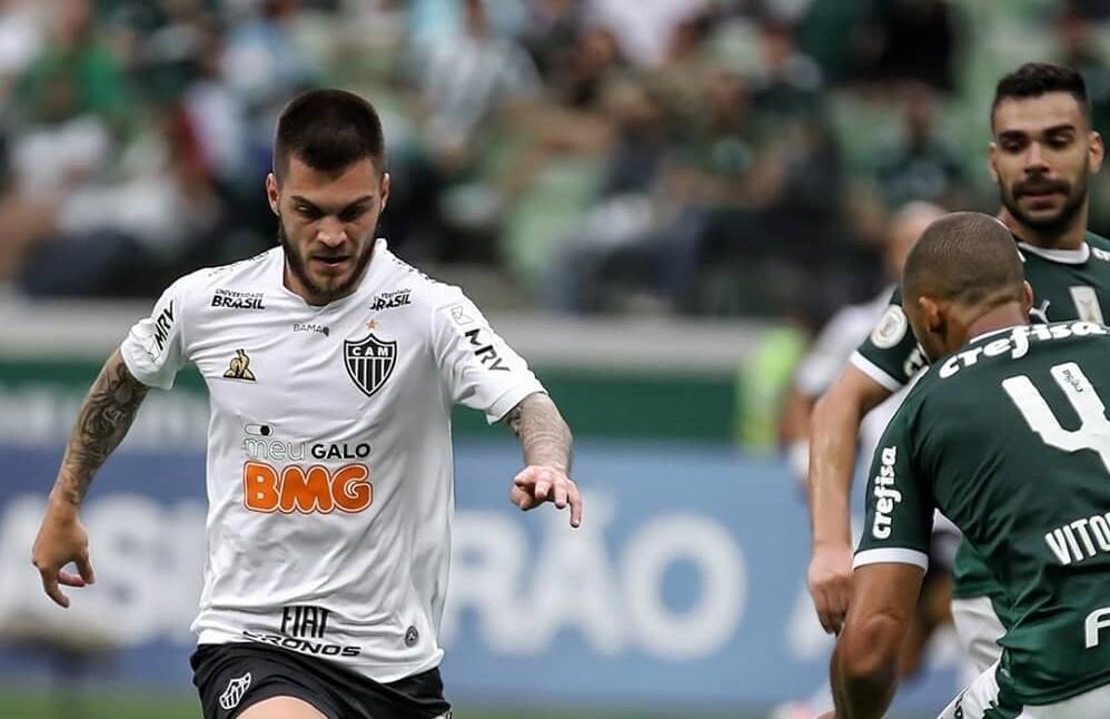 Jogo entre Palmeiras e Atlético-MG terminou em empate
