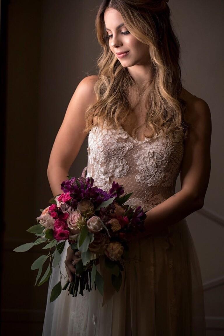 Atriz é casada com Igor Raschkovsky