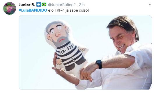 Internet reage à nova condenação de Lula
