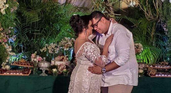 Anderson e Raquel Freire completaram Bodas de Cristal