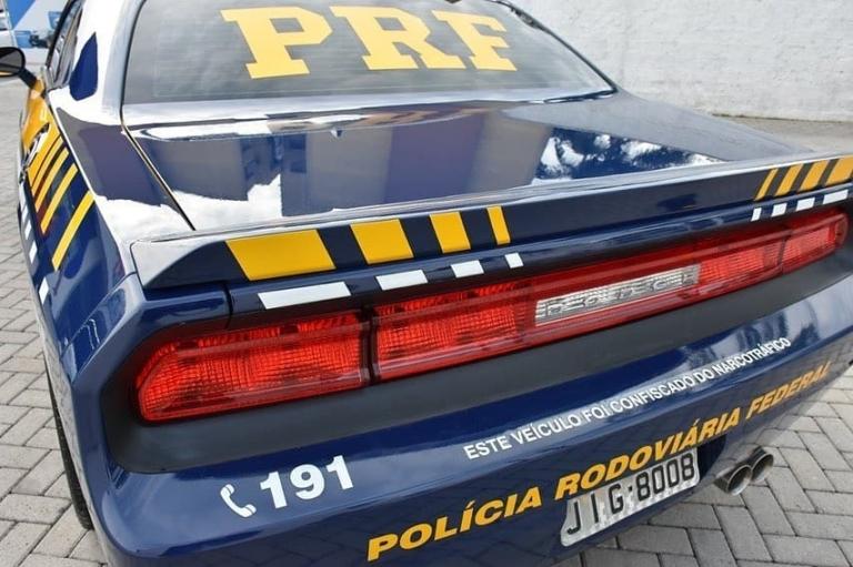 Dodge Challenger será usado pela PRF
