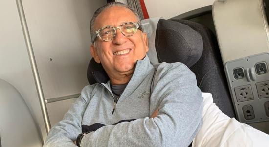 Galvão Bueno passou mal e foi internado em Lima