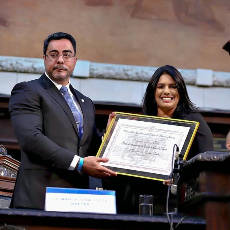 Juiz Marcelo Bretas recebe homenagem na Alerj