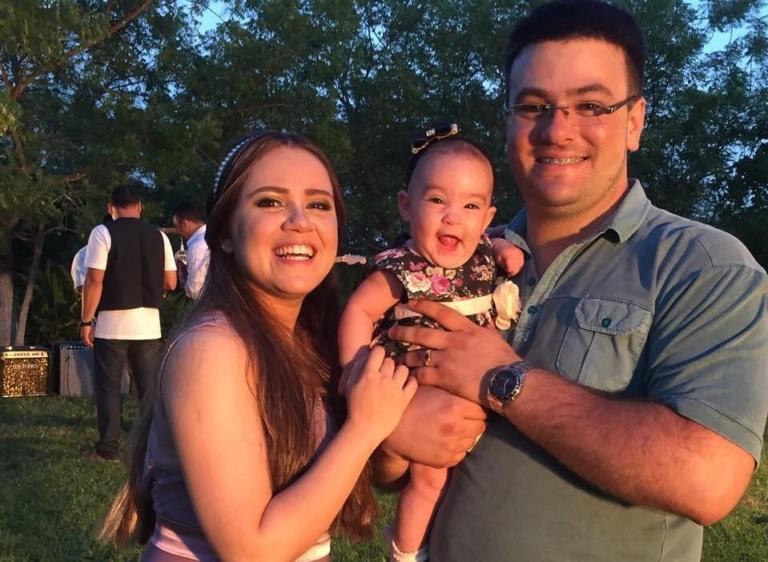 Sarah Farias está grávida do segundo filho