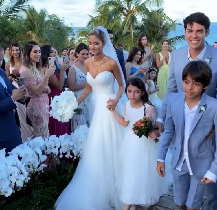Casamento de Kaká e Carol Dias