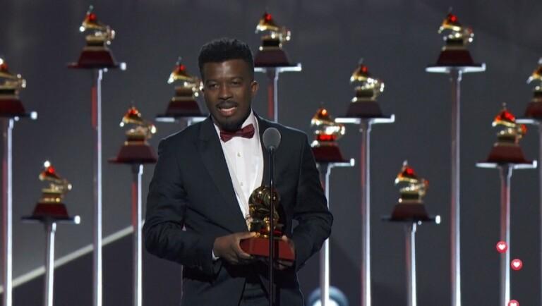 Delino Marçal venceu na categoria Melhor Álbum Cristão (em Português), com Guarda meu Coração, gravado pela MK Music