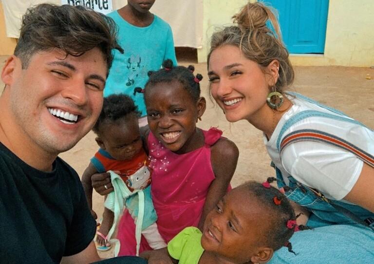 Os dois já fizeram missões na África