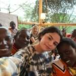 Selena Gomez participa de ação missionária no Quênia