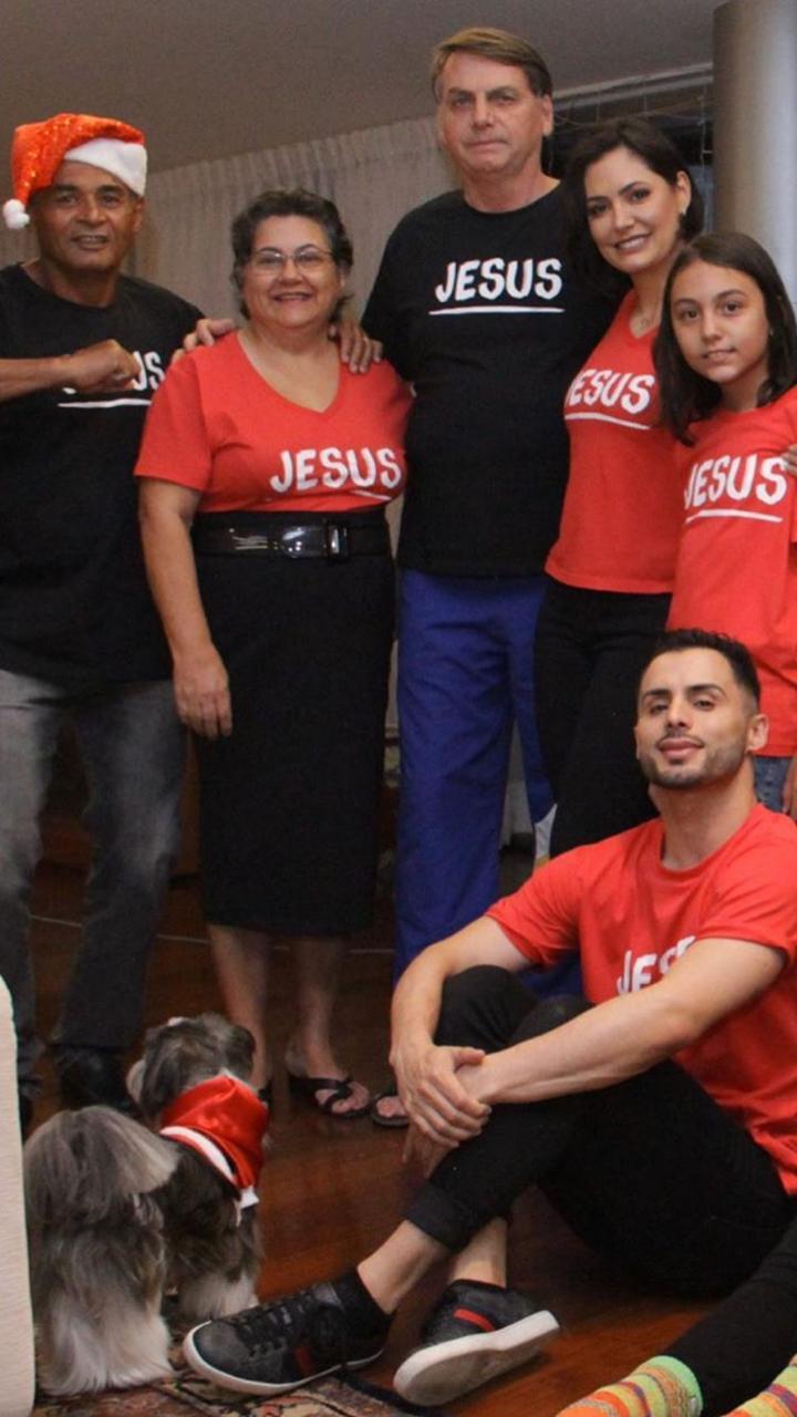 Natal da família Bolsonaro foi animado