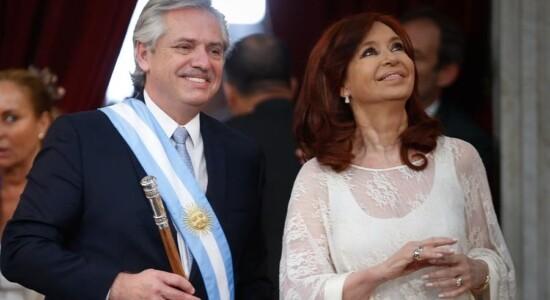 Alberto Fernéndez e Cristina Kirchner tomam posse na Argentina