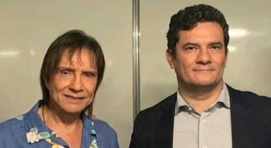 Roberto Carlos e Sergio Moro