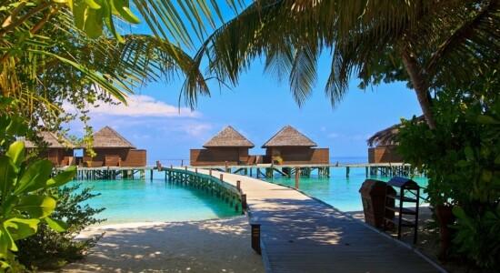 República das Maldivas é cheia de belezas naturais