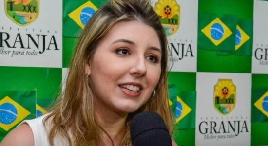 Amanda Aldigueri, prefeita de Granja