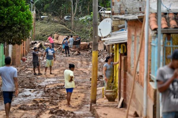 Chuvas castigaram cidades em Minas Gerais