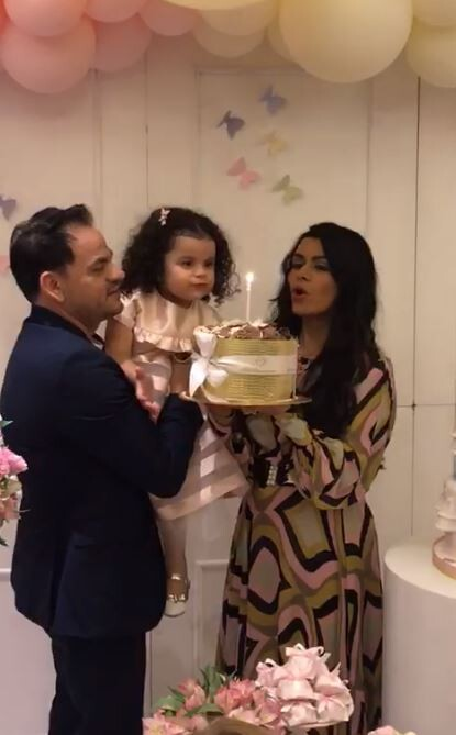 Antonella completou 3 anos de idade